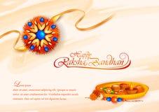 Decorated rakhi for Indian festival Raksha Bandhan. Vector illustration of decorated rakhi for Indian festival Raksha Bandhan Royalty Free Stock Photos