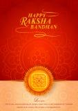 Decorated rakhi for Indian festival Raksha Bandhan. Vector illustration of decorated rakhi for Indian festival Raksha Bandhan Royalty Free Stock Images
