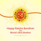 Decorated Rakhi for Raksha Bandhan Royalty Free Stock Image