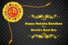 Decorated Rakhi for Raksha Bandhan Stock Photo
