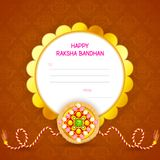 Decorated Rakhi for Raksha Bandhan Royalty Free Stock Photos