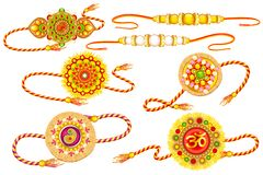 Decorated Rakhi Stock Images