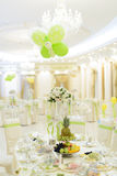 Decorated Restaurant S Hall Stock Photography