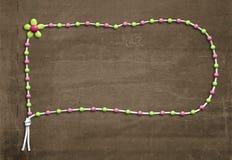 Decorated ribbon strip frame Royalty Free Stock Photo
