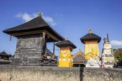 Decorated shrine, the biggest Hindu festival Galungan, Nusa Penida in Indonesia Stock Images