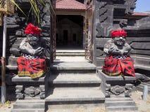 Decorated shrine, the biggest Hindu festival Galungan, Nusa Penida in Indonesia Stock Image