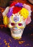 Decorated skull I Royalty Free Stock Photography