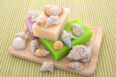 Decorated soap Royalty Free Stock Photos