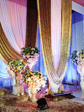 Decorated Stage Stock Photography