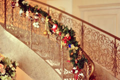 Decorated staircase Stock Photography