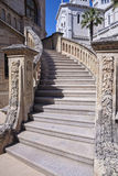Decorated stairs Royalty Free Stock Photography