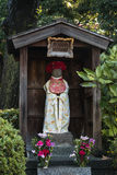 Decorated statue in Japanese shrine Stock Photography