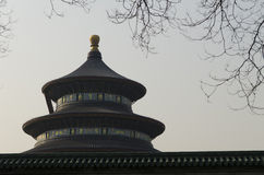 Decorated stone of The Temple of Heaven Tiantan Daoist temple eligious buildings Beijing China Stock Photography