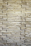 Decorated stone wall Stock Photos