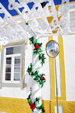 Decorated street, Redondo village Royalty Free Stock Images