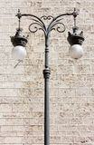 Decorated Streetlamp Royalty Free Stock Photos