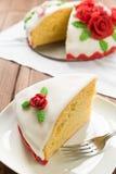 Decorated cake Royalty Free Stock Photos