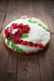 Decorated cake Stock Photography