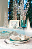 Decorated table Royalty Free Stock Photography