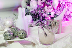 Decorated table Stock Photography