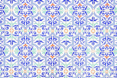 Decorated tiles Royalty Free Stock Photography