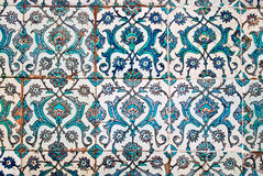Decorated tiles, arabian style Stock Image