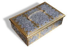 Decorated treasury box Stock Images
