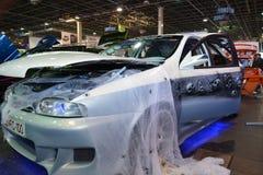 Decorated trimmade bilen Fotografering för Bildbyråer