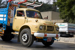 Decorated truck Stock Photography