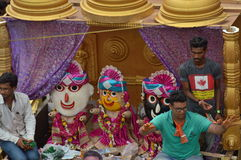 Decorated truck at  Rathyatra-2015, Ahmedabad Royalty Free Stock Photography