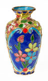 Decorated Vase Royalty Free Stock Photography