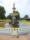 Decorated Victorian water fountain Royalty Free Stock Photo