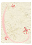 Decorated vintage paper Royalty Free Stock Images