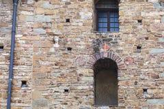 Decorated wall of Church Santa Maria Maggiore Royalty Free Stock Photos