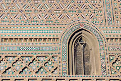 Free Decorated Wall Of An Old Church In Malaga, Spain Royalty Free Stock Images - 37986449