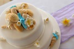 Decorated Wedding cake Stock Images