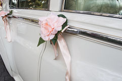 decorate wedding car Stock Photography