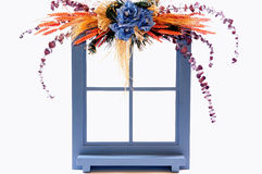 Decorated window Royalty Free Stock Image