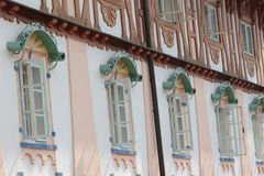 Decorated window Stock Photo