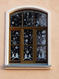 Decorated window Royalty Free Stock Photos