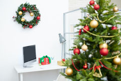 Decorated workplace Royalty Free Stock Photo