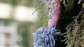 Decorateds weddings elements stock video
