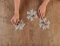 Decorater-Hände Lizenzfreies Stockbild