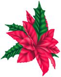 Decoratie 01 van Kerstmis royalty-vrije illustratie