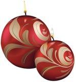 Decoratie 03 van Kerstmis royalty-vrije illustratie