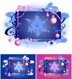 Decoratie 2 van de winter Royalty-vrije Stock Afbeelding