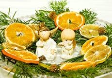 Decoratie 2 van Kerstmis Royalty-vrije Stock Afbeeldingen