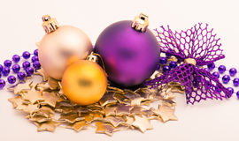 Decoratie 2 van Kerstmis Royalty-vrije Stock Fotografie