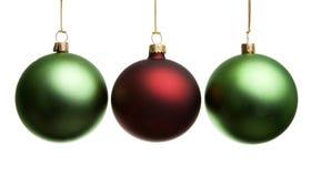 Decoratie 3 van Kerstmis Stock Afbeeldingen