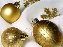 Decoratie 4 van Kerstmis Stock Foto